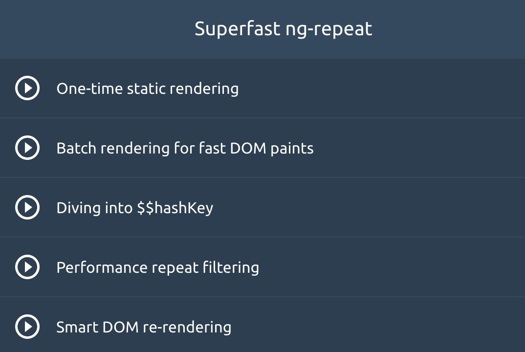 Ultimate AngularJS: Performance – Todd Motto Courses