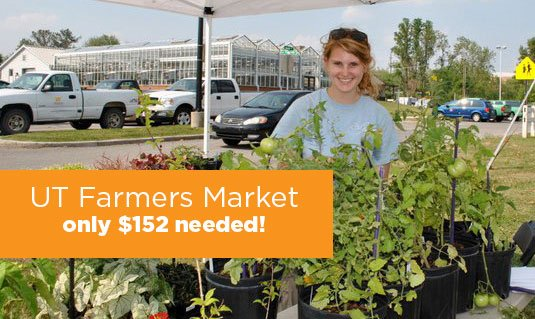 Want to help grow the UT Farmer's Market? Only $152 is needed on #VOLstarter! #UTHero https://t.co/K40y3Jvm3e https://t.co/Gp9vUsiLha