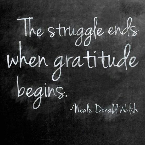 MRT @KariJoys The struggle ends when #Gratitude begins. #JoyTrain #SuccessTRAIN #Joy RT @Unisoultheory @maymcc