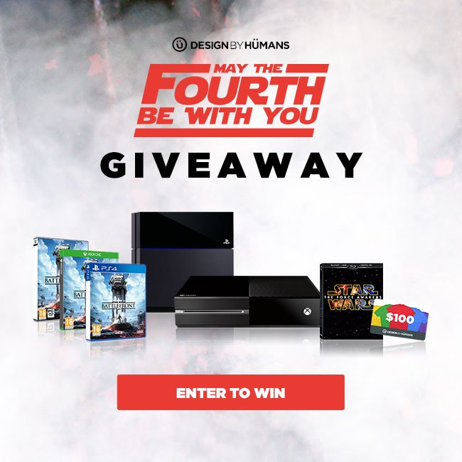 These ARE the prizes you're looking for. Win an Xbox/PlayStation in our #MayThe4th giveaway! https://t.co/jru0h8GP8t https://t.co/03faevXWJX