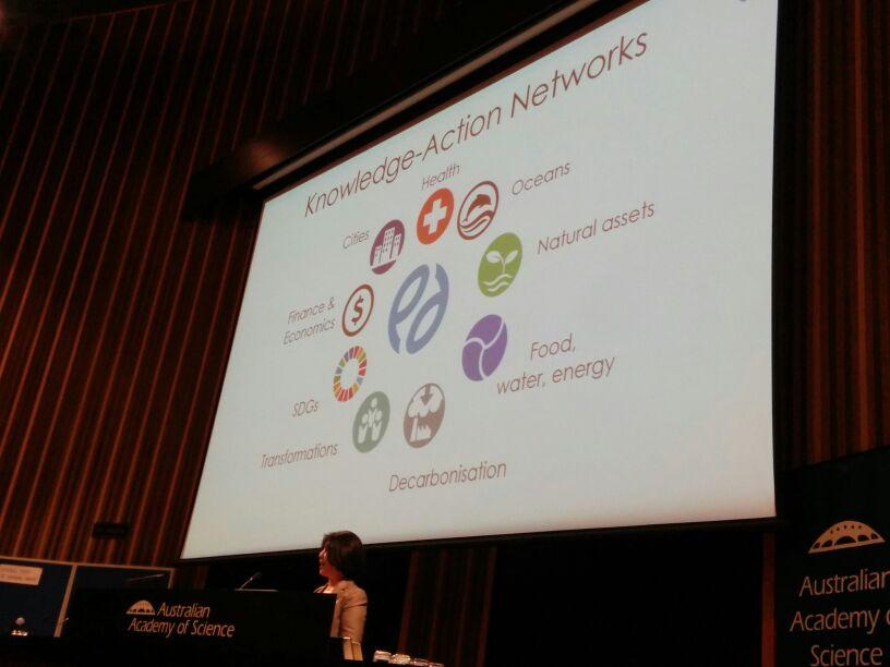 Nine Knowledge-Action networks in @futureearth #FutureEarthOz @xuemeibai_aus https://t.co/ha75XkN4Ib