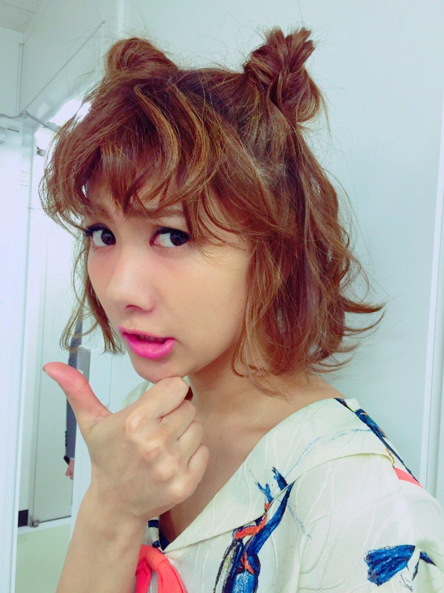 佐江ちゃん 髪で遊ばせてもらった♡ かわいい^ ^
