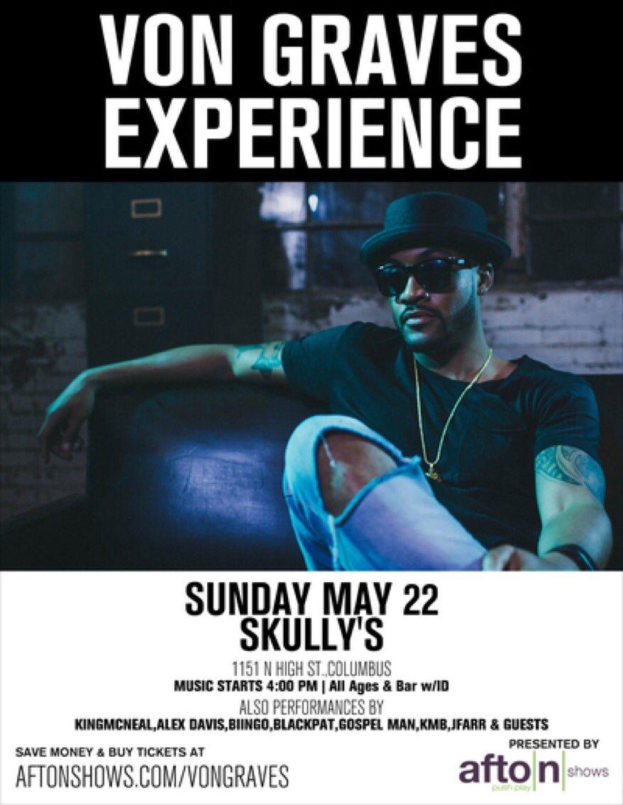 May 22nd @ Skully's (Columbus) https://t.co/hWOaktFdBc