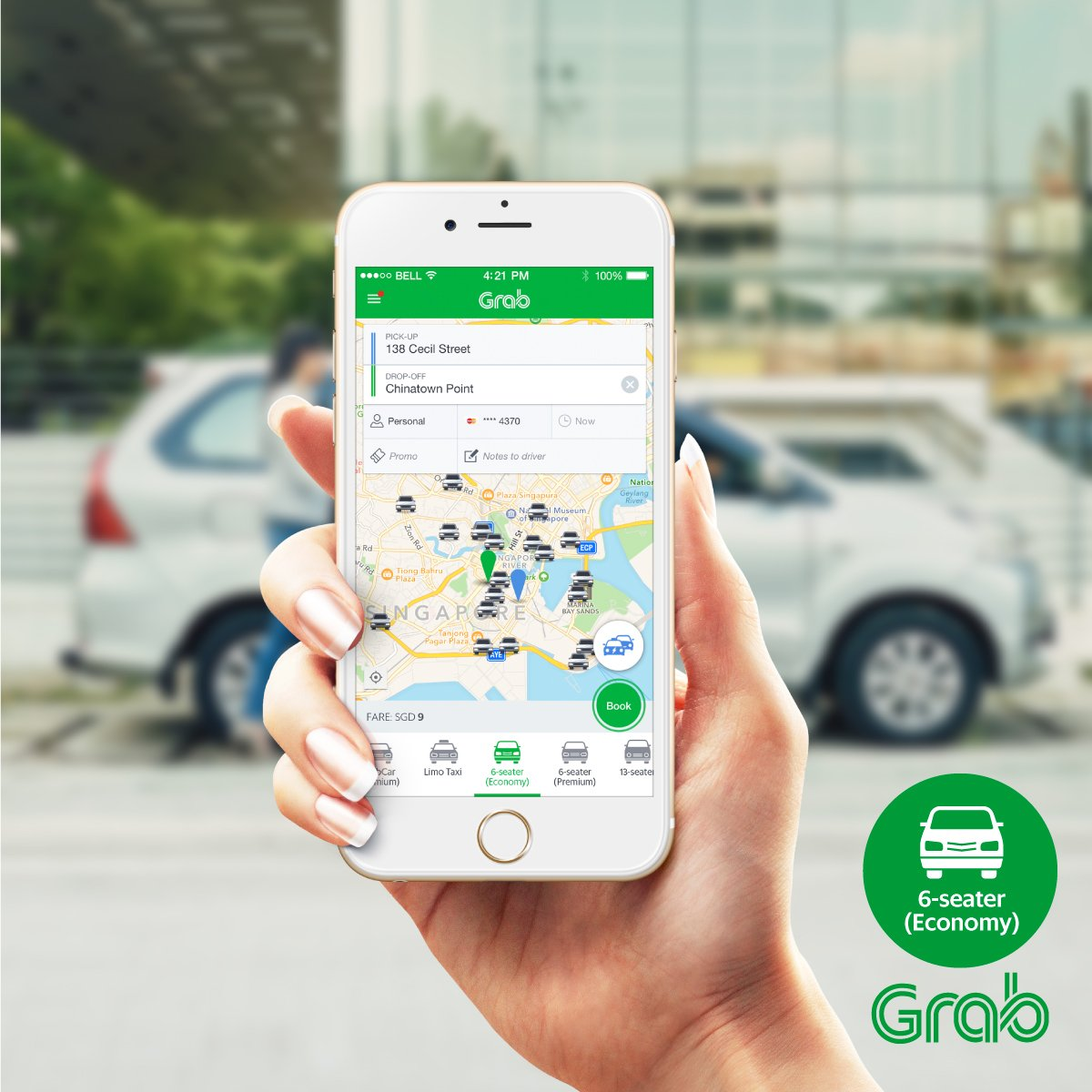 Grab Singapore On Twitter Enjoy Bigger Rides With Grabcar S 6