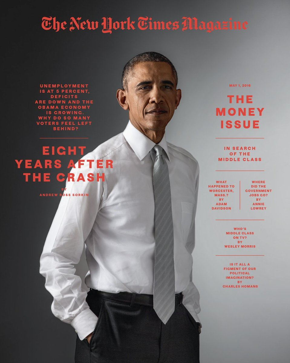 This weekend's @NYTMag cover story: I sat down with @POTUS to weigh his economic legacy https://t.co/CUflsCHhSe https://t.co/hYUvmCgh65