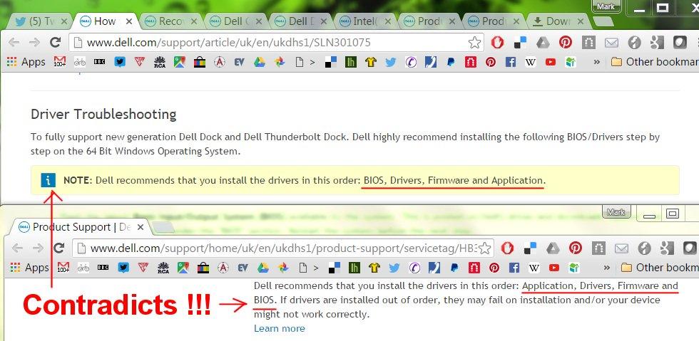 Dell Thunderbolt Dock Drivers