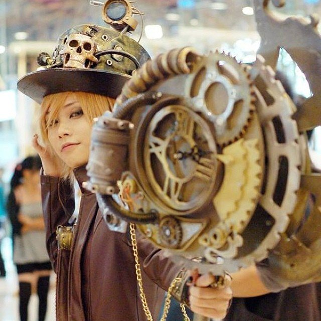 steampunk  girl by Zing Ruby  #steampunk  https://t.co/3WNRQHT6fL