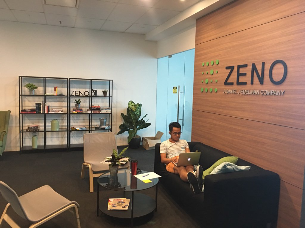 Looking for people to work for us. Fresh grads most welcome #anotherdayatzeno https://t.co/3YIXZxCuxD