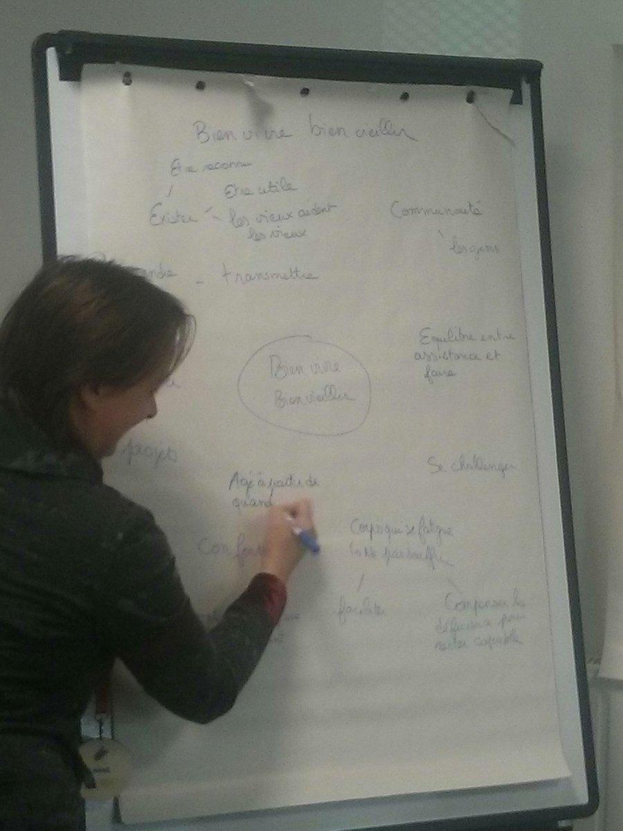 #brainstorming : par équipes, les participants décryptent le sujet et échangent leurs idées #maisonmix https://t.co/kriaTmShGi