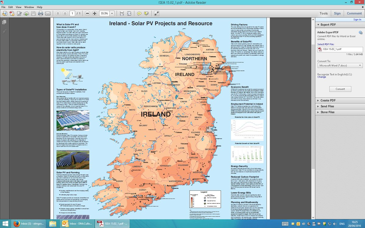 Map Of Ireland For Driving.Darragh Mccullough On Twitter Fascinating Map From Bnrgrenewables
