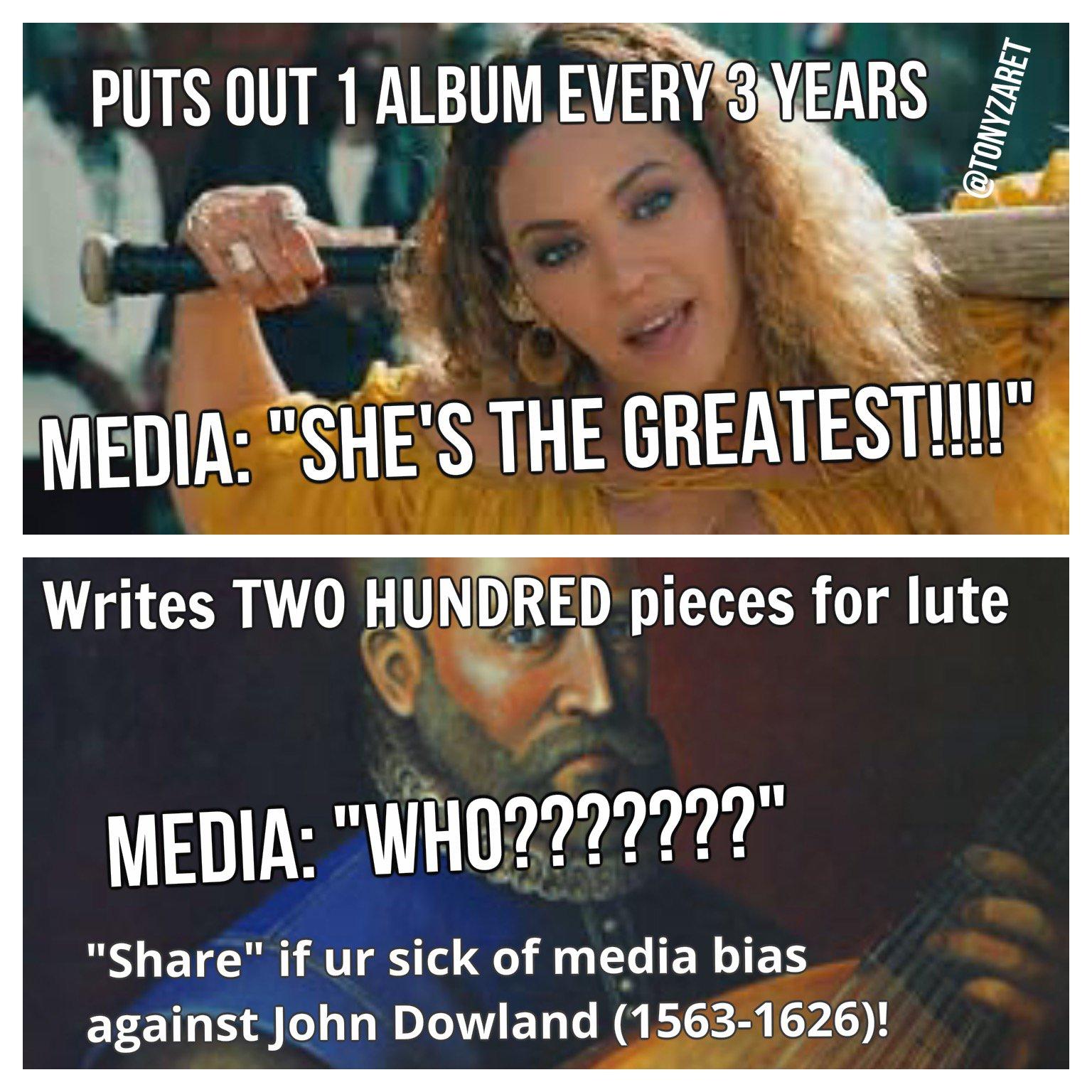 Beyonce and John Downland