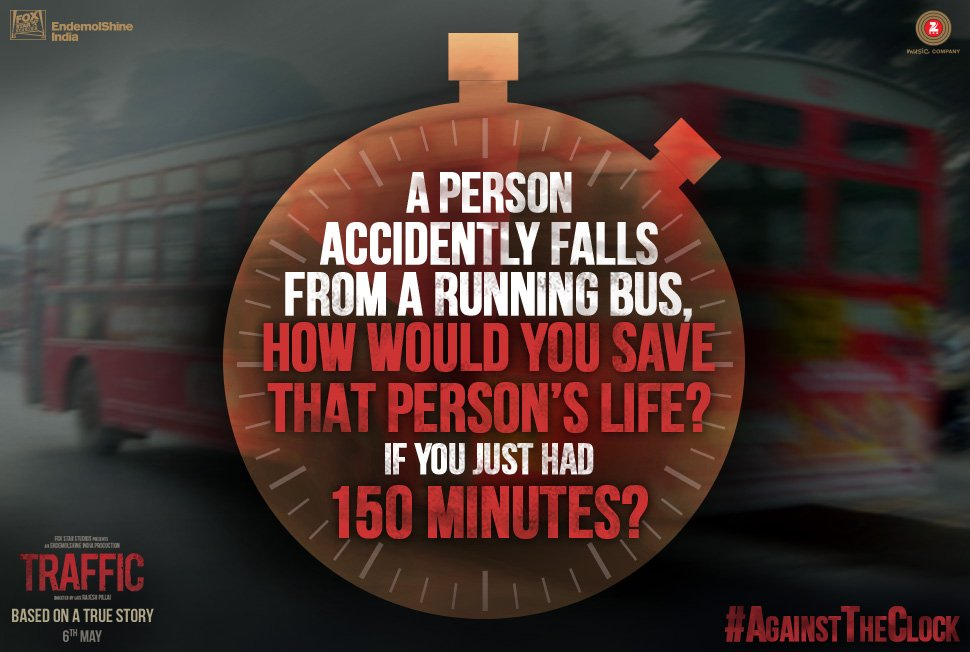 """Fox Star Hindi on Twitter: """"All you have is 150 minutes to save a person's  life. How will you do it? Tweet to us by using #AgainstTheClock.… """""""