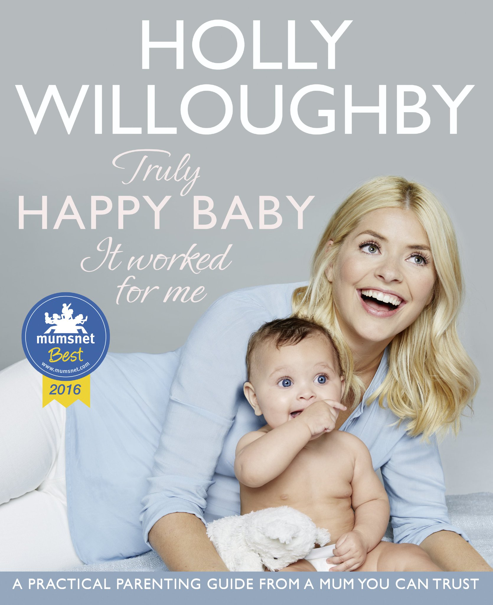It's here!! The cover for my book Truly Happy Baby... featuring my gorgeous niece Darcy! https://t.co/4DWLIEHGkQ ❤️ https://t.co/R8lFfWvNu9