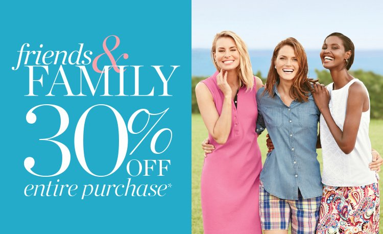 Grab your BFFS – our Friends & Family Event is on! Save 30% off your entire purchase!  https://t.co/jxWefo3t3z https://t.co/xapmcwaoE8