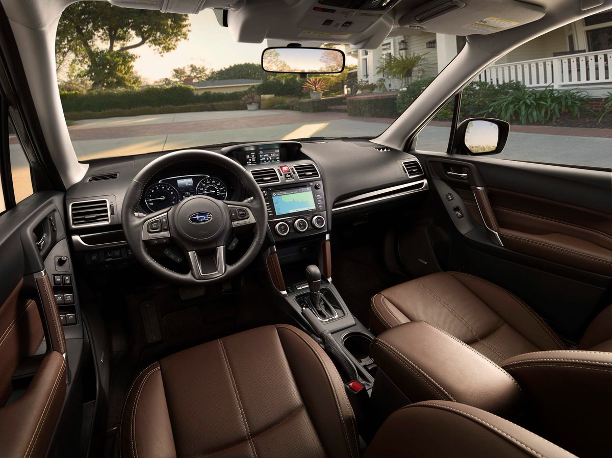 Subaru On Twitter 2017 Forester Now With Saddle Brown Leather Upholstery Heated Steering Wheel Available Https T Co Xipjmgclsq