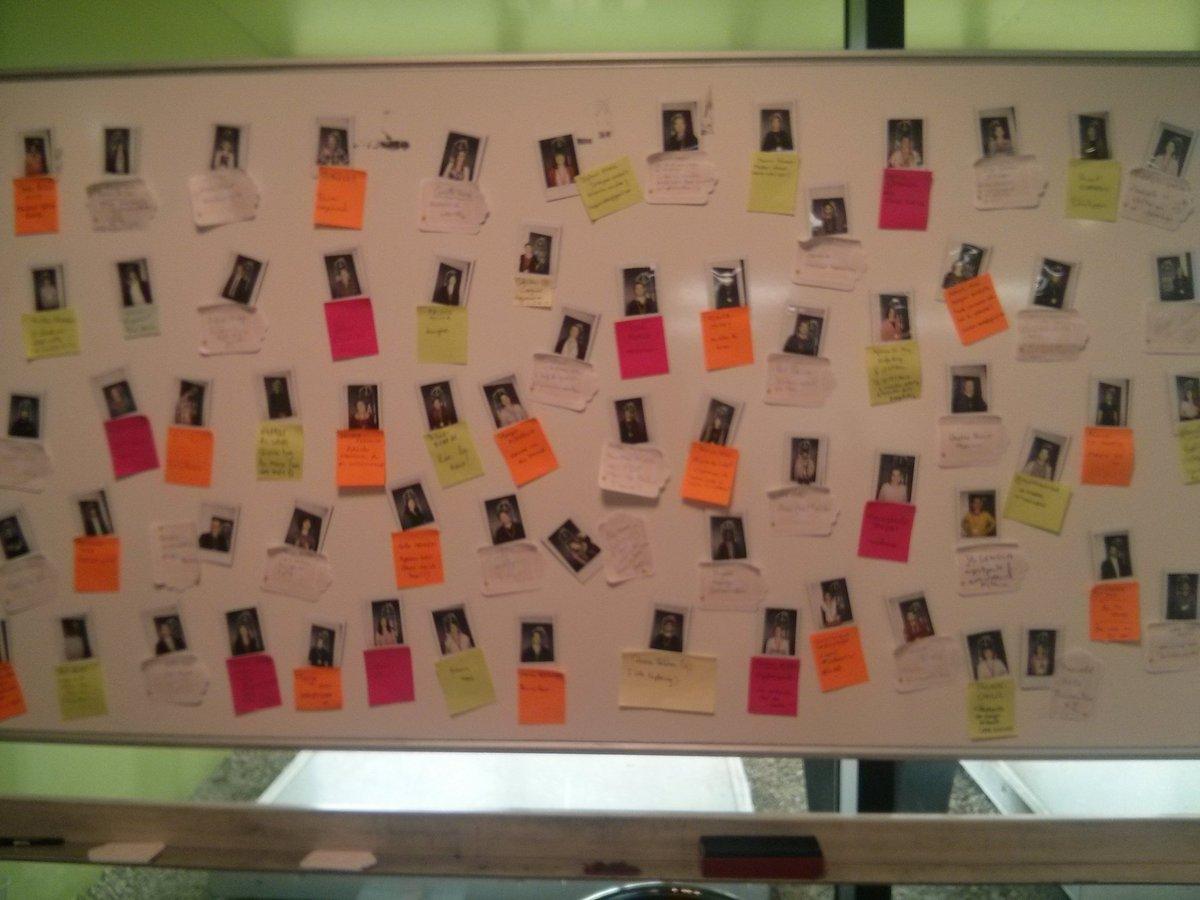 #maisonmix Le tableau des participants, idéal pour repérer des gens, échanger, réseauter https://t.co/lKm2qSn9wn