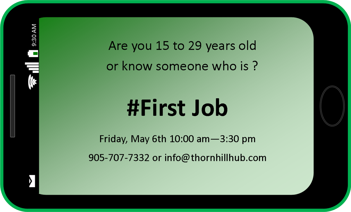 Thornhill Employment Hub On Twitter No Experience No Problem We Ll Help You Find Your Firstjob Thornhill Vaughan Markham Jobs Hiring Teen