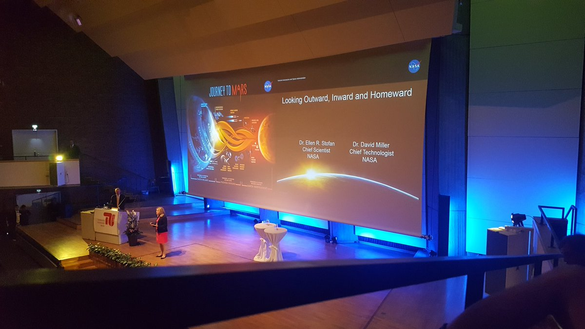Inspiring lecture from @NASA at @TUBerlin today! #JourneyToMars https://t.co/rNr7mWTL50