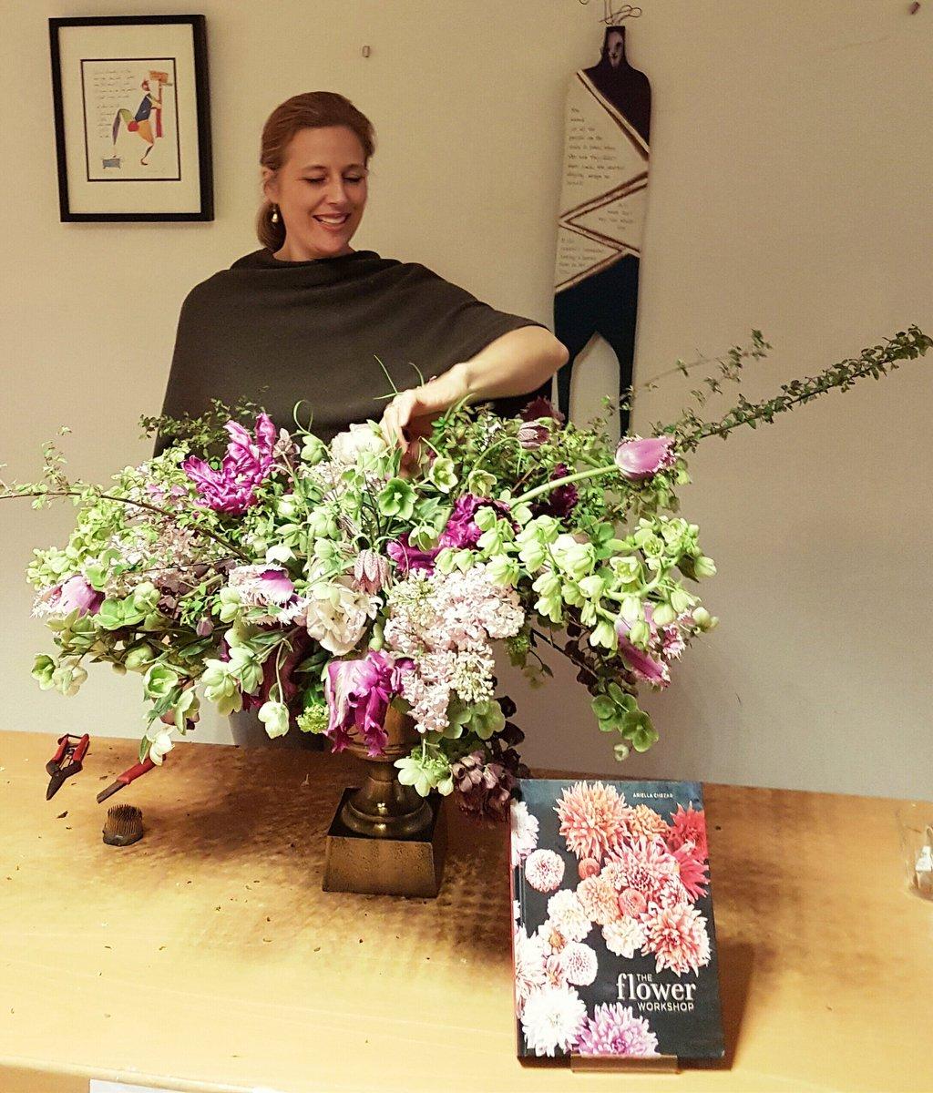 The American Book Center On Twitter Famous Flower Designer