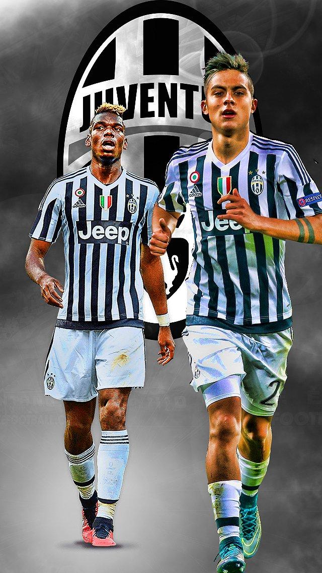 Football Design On Twitter Pogba And Dybala IPhone Wallpaper