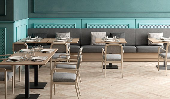 The beautiful Garbo arm chairs, available at Sandler Seating very soon! #Furniture #Design #Hospitality