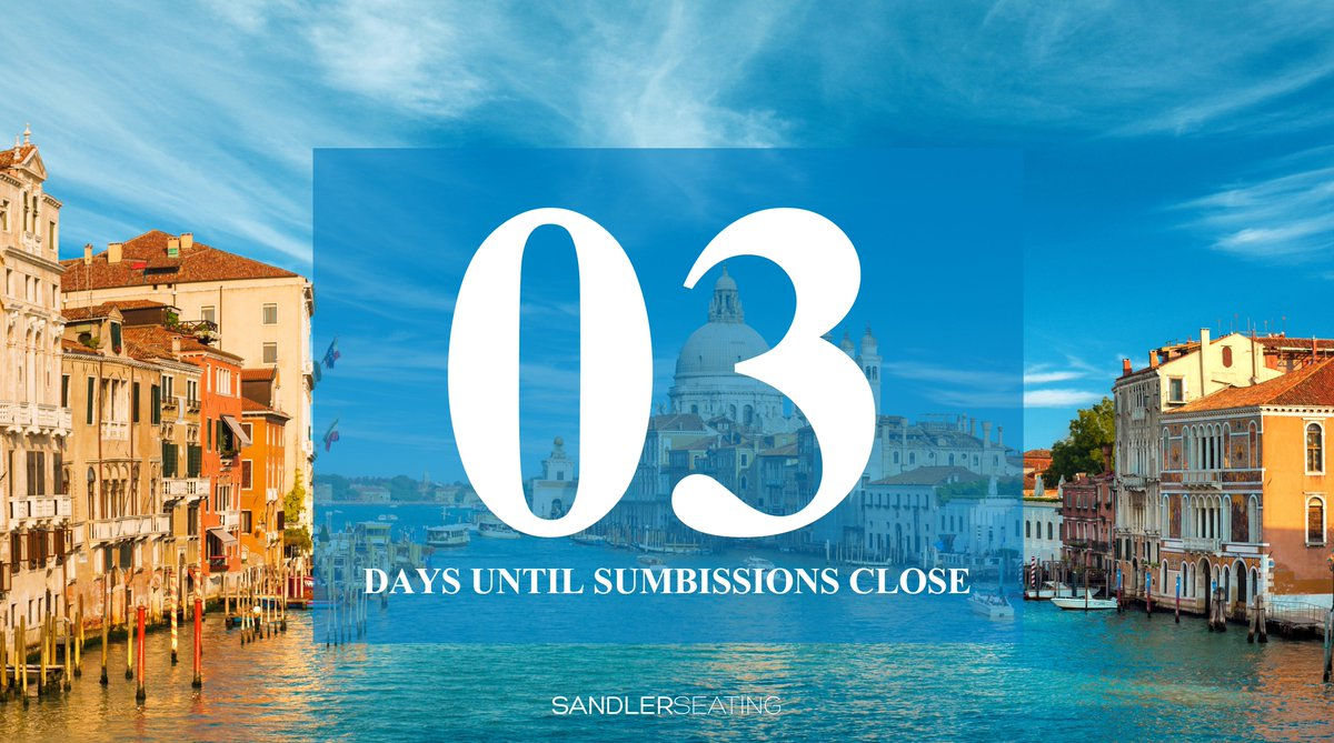 Only three days remaining! It is time to get your submissions in!- https://t.co/9Tgze6VEpT #Competition #Hospitality