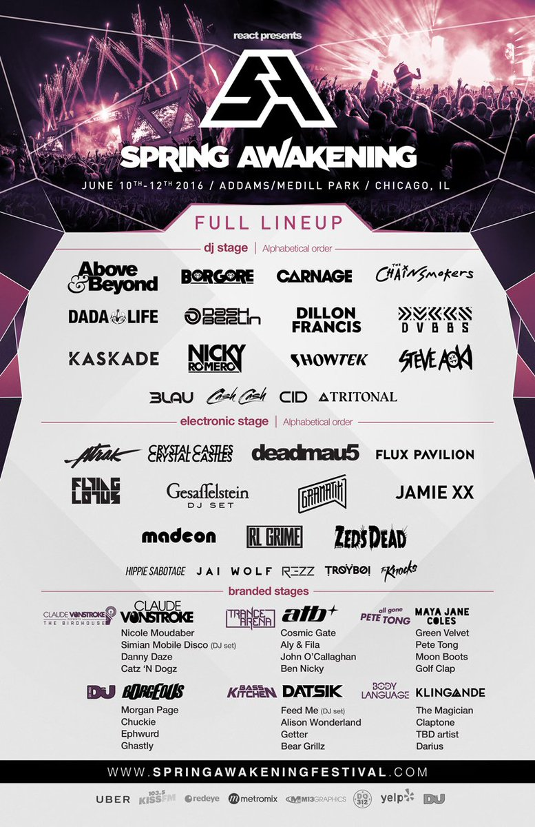 Thanks for hanging in there with us #SAMF fam! It's finally here! Full Lineup and New Location Announced! https://t.co/jgbNROT7dV