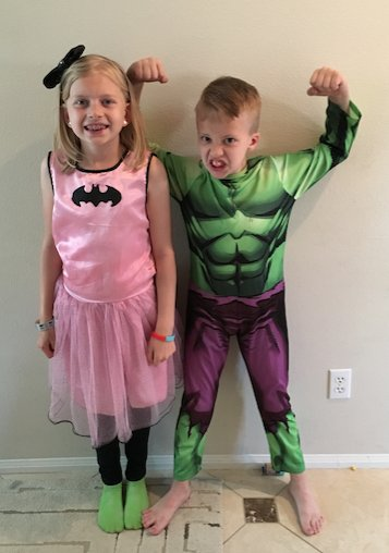 FamilyFunFact Favorite Superheros For NationalSuperheroDay Alyssa Batgirl David Hulkpictwitter 9MlcUXn8qN