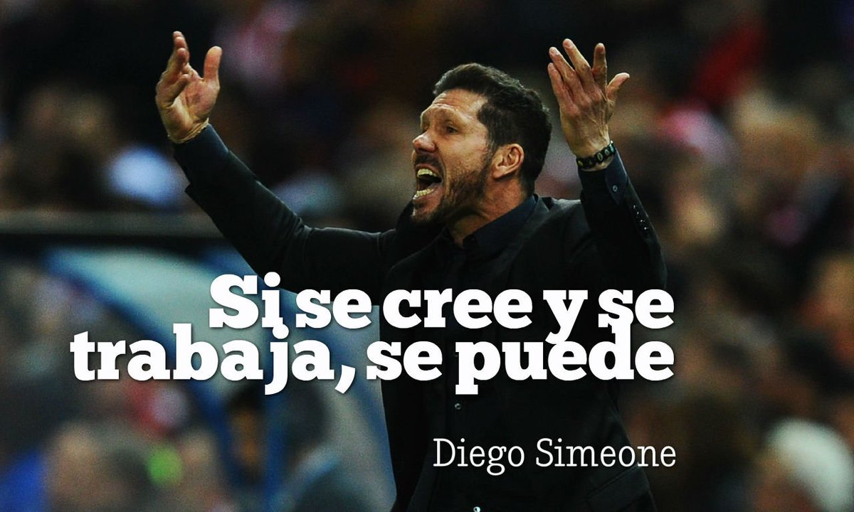 Diego Simeone Cumple 46 Años Con Un Pie En La Final De La