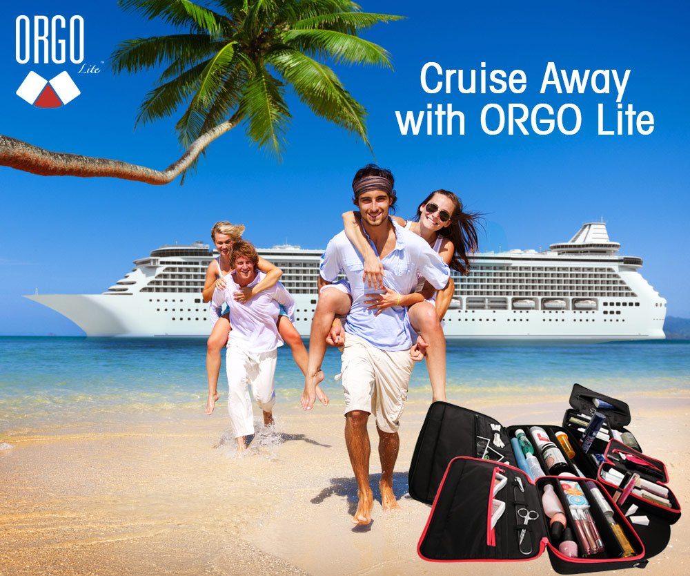 Give yourself room to get ready in your cabin's small bathroom with ORGO! #EverythingOrgo #Cruise #Travel #Adventure<br>http://pic.twitter.com/BJI2uNZS40