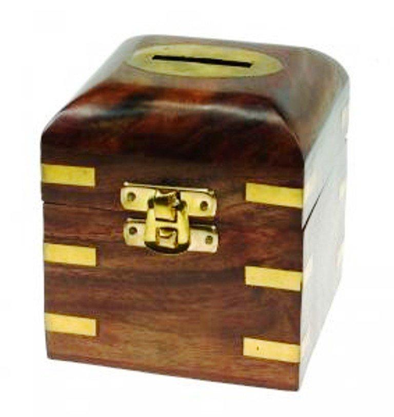 THE FAIR TRADE STORE on Twitter This sheesham wood money box
