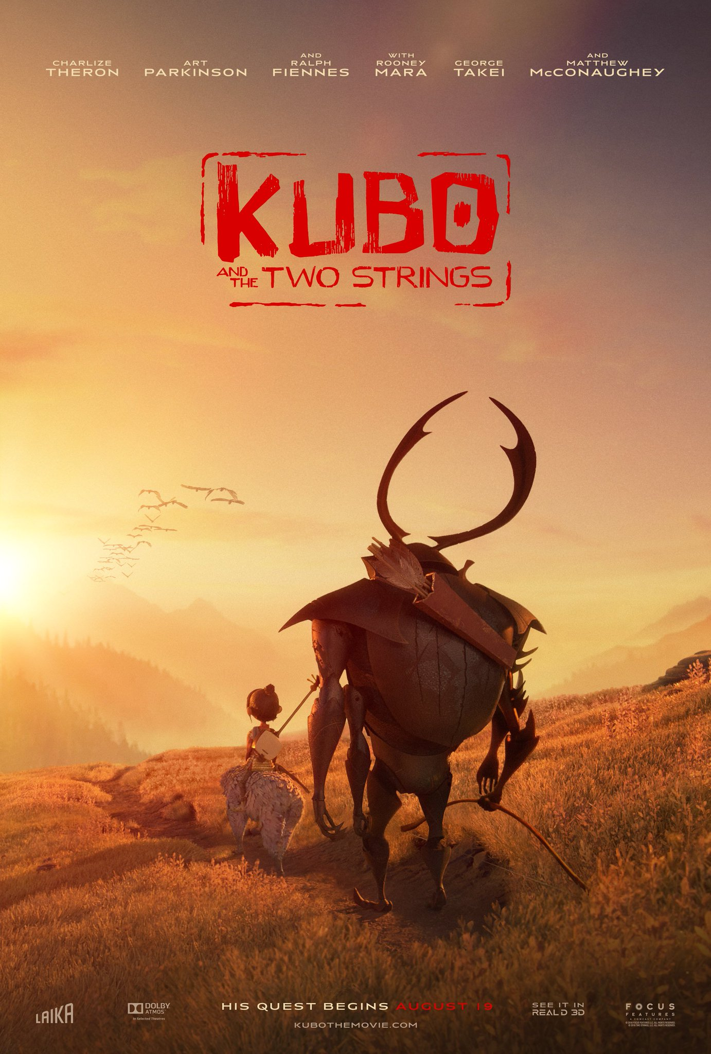 New Kubo and the Two Strings Trailer & Posters Revealed 1