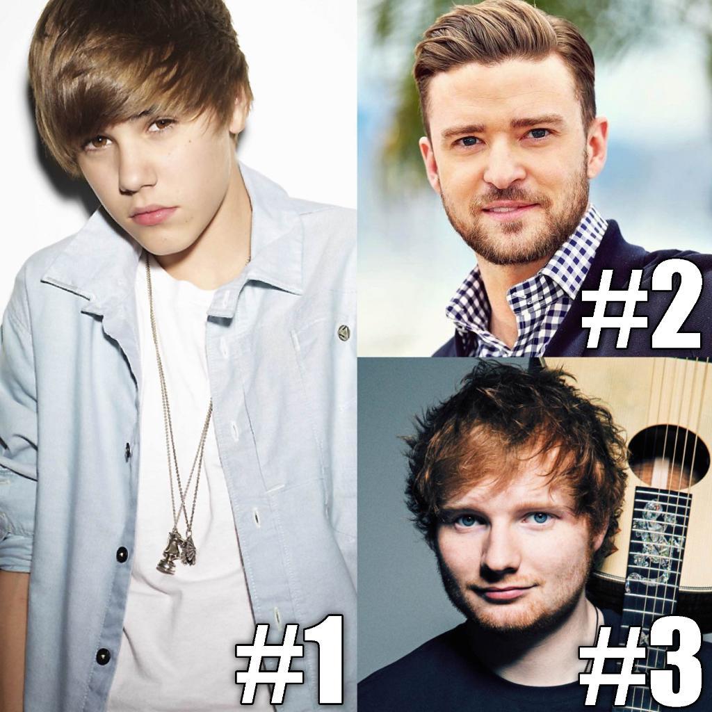 Here's Today's #TBT Top 3! 1. @JustinBieber #OneTime 2. @JTimberlake #CryMeARiver 3. @EdSheeran #LegoHouse