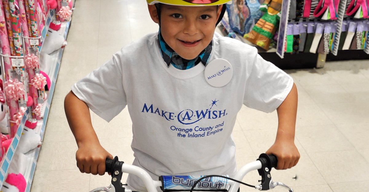 Make wishes come true! RT this today & we'll donate $1 (up to $25k) to @MakeAWish! #AwesomeBirthday #WorldWishDay https://t.co/MMcAg3qqka