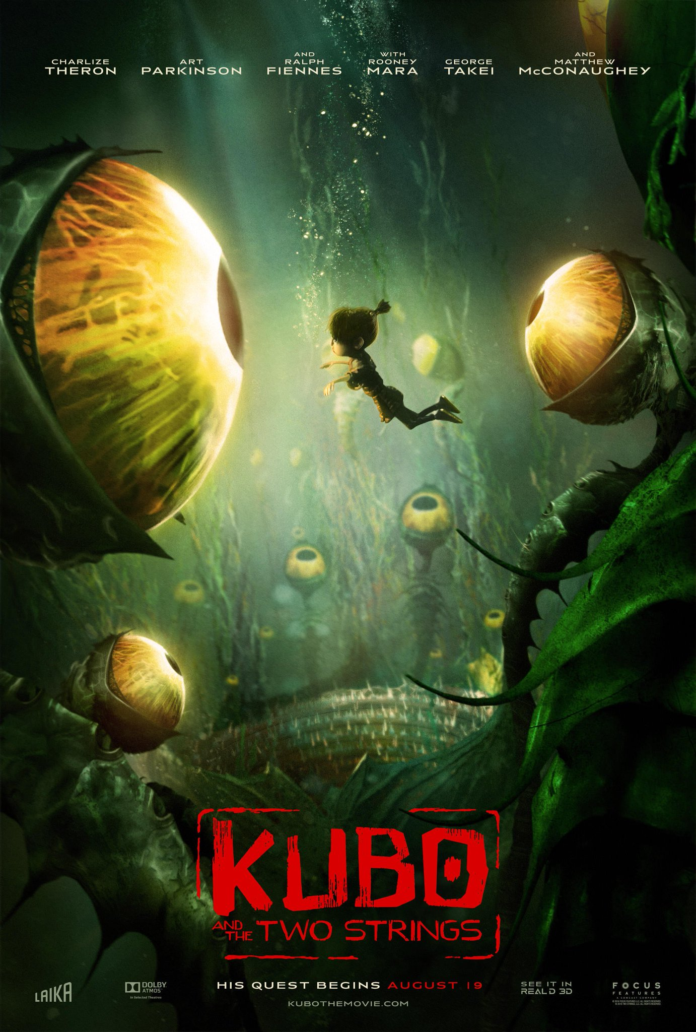 New Kubo and the Two Strings Trailer & Posters Revealed 3