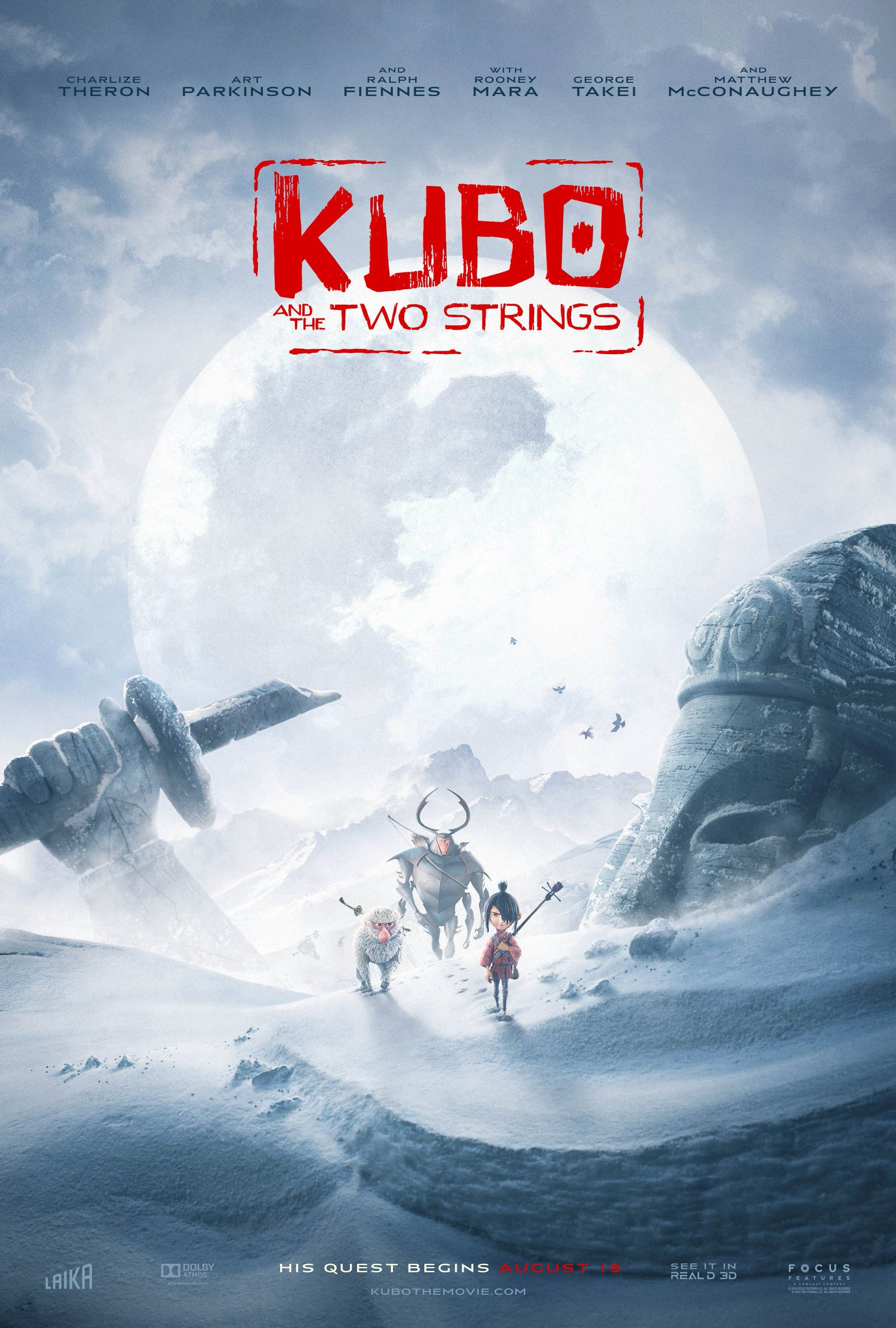New Kubo and the Two Strings Trailer & Posters Revealed 4