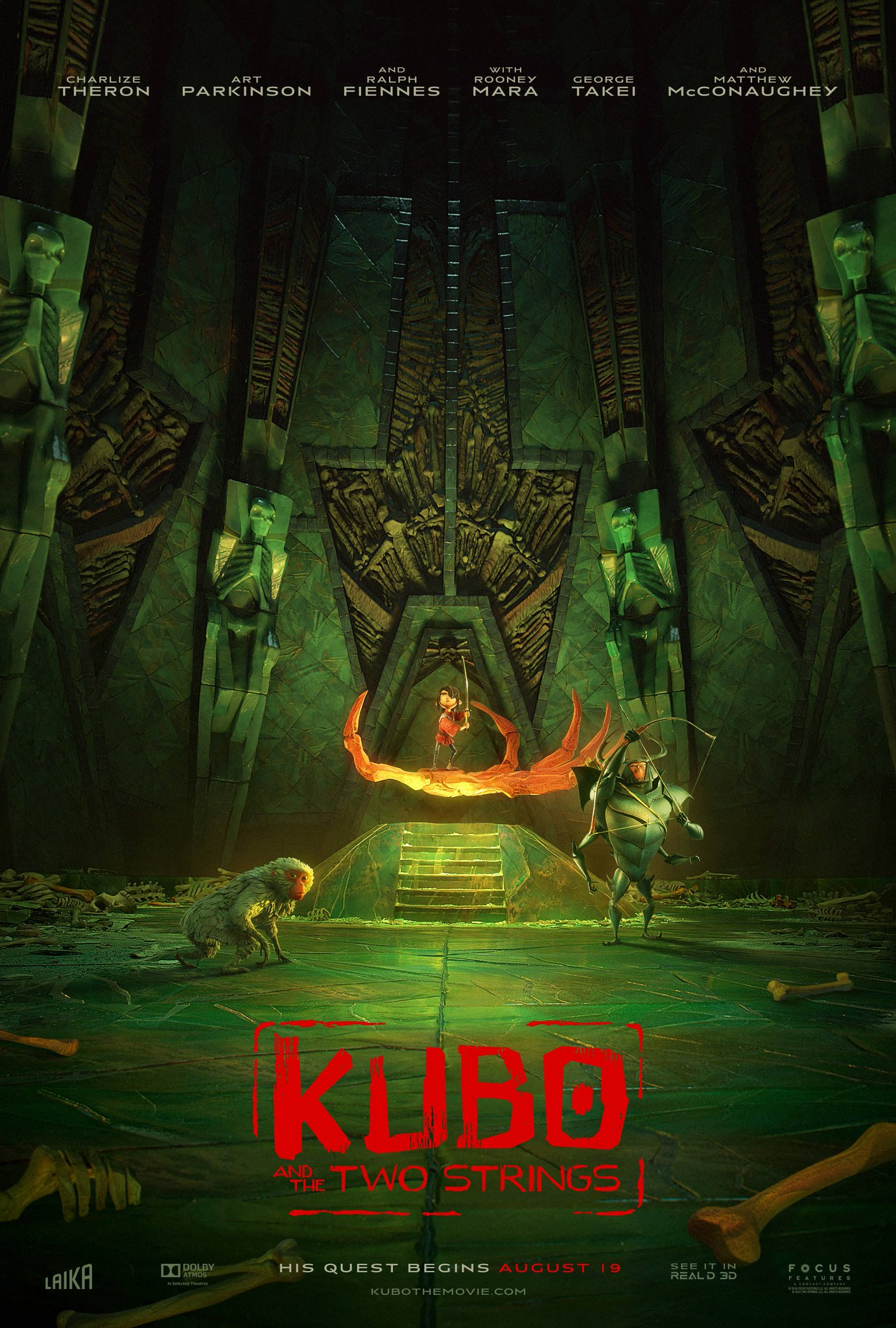 New Kubo and the Two Strings Trailer & Posters Revealed 2