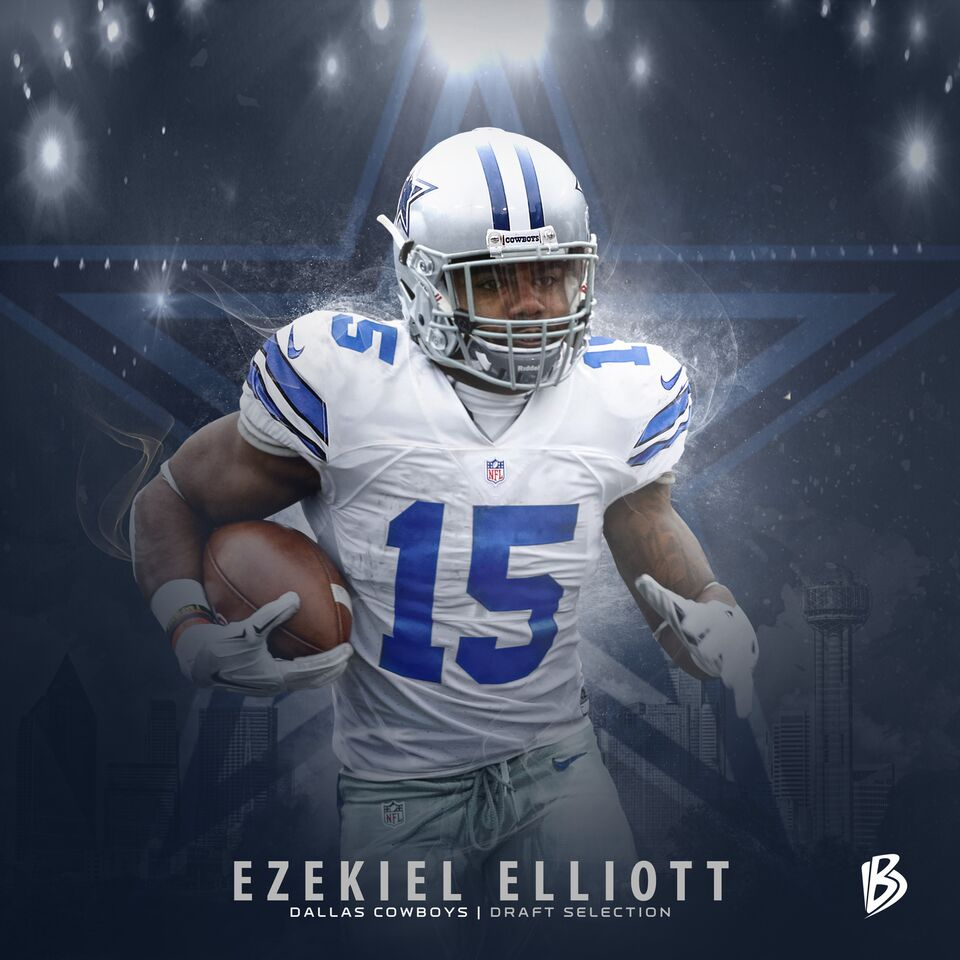The newest member of the @dallascowboys, @EzekielElliott! #NFLDraft (via @dbrownpro)