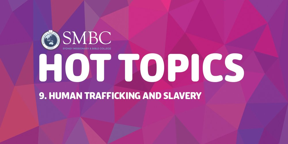 human trafficking topics