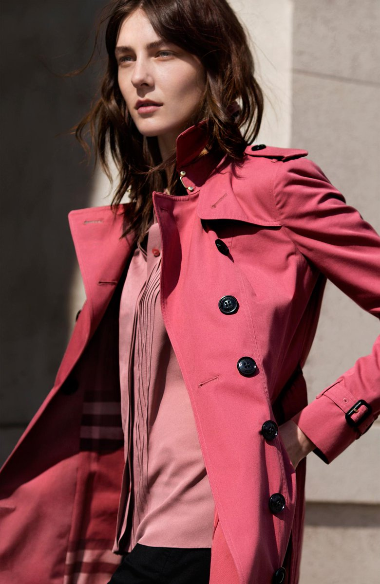 Burberry walditch petite coat — photo 13