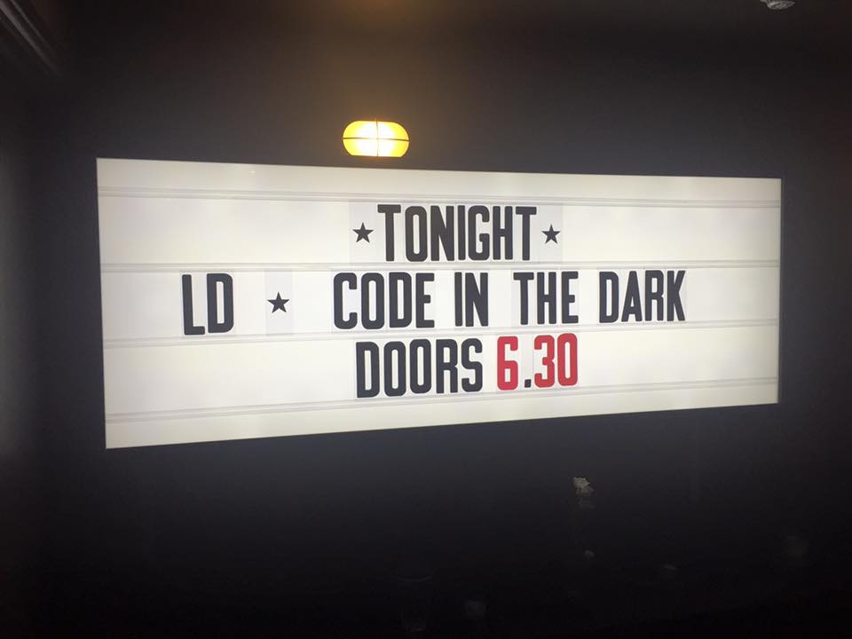 Loving tonight's #CodeInTheDark! Awesome atmosphere and our very own lead dev even took part @codeinthedarkUK #Leeds https://t.co/T5iPN2eCFT