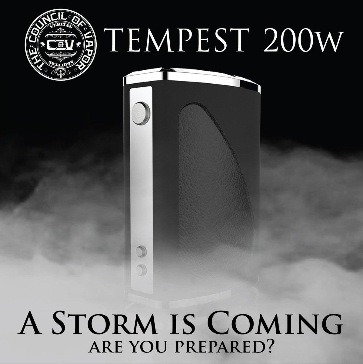 Council of Vapor Tempest 200W TC Box Mod | Triple x 18650