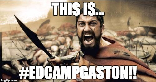 If you haven't registered for #edcampgaston, please do tonight. Nametags have been printed and signage will go upeth https://t.co/wkVYs521h8