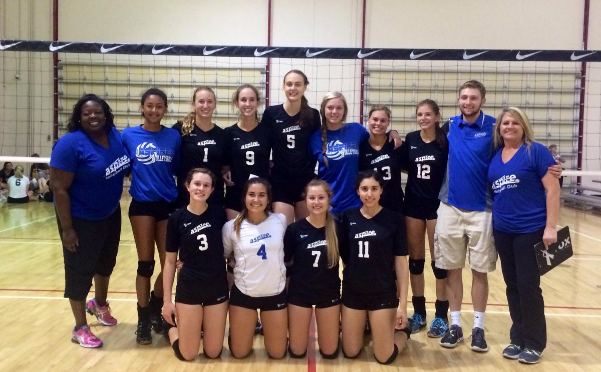 Aspire Volleyball On Twitter As 17s Raphael Lauren And Sarah Joined Despite Extreme Adversity Earned Another Open Bid And A Top 20 At Gjnc