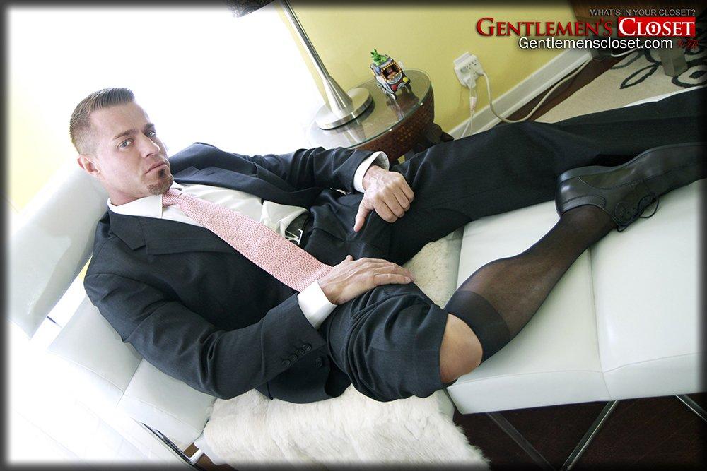 Gay porn sheer socks