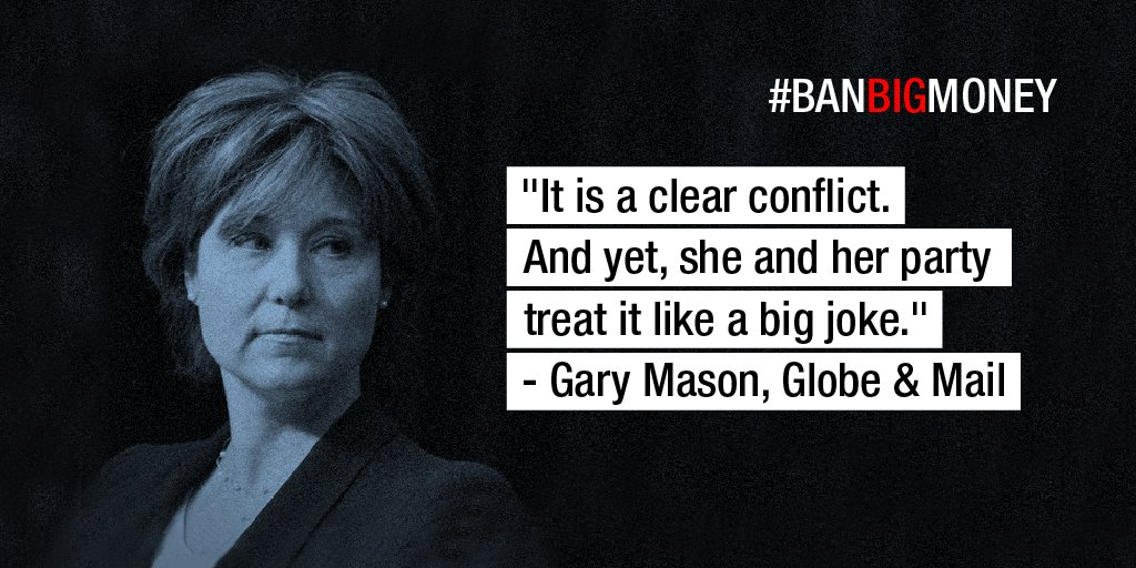 Enough is enough. It's time to #BanBigMoney from BC politics: https://t.co/r2ixTp6lx1 #bcpoli https://t.co/k03Rwoyuef