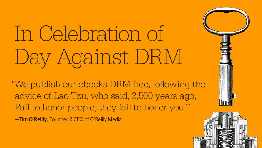 May 3 is #DayAgainstDRM - Sign up now for a reminder to stock up during our site-wide sale https://t.co/YPYGJji4wa https://t.co/lk1bfvT3Ja