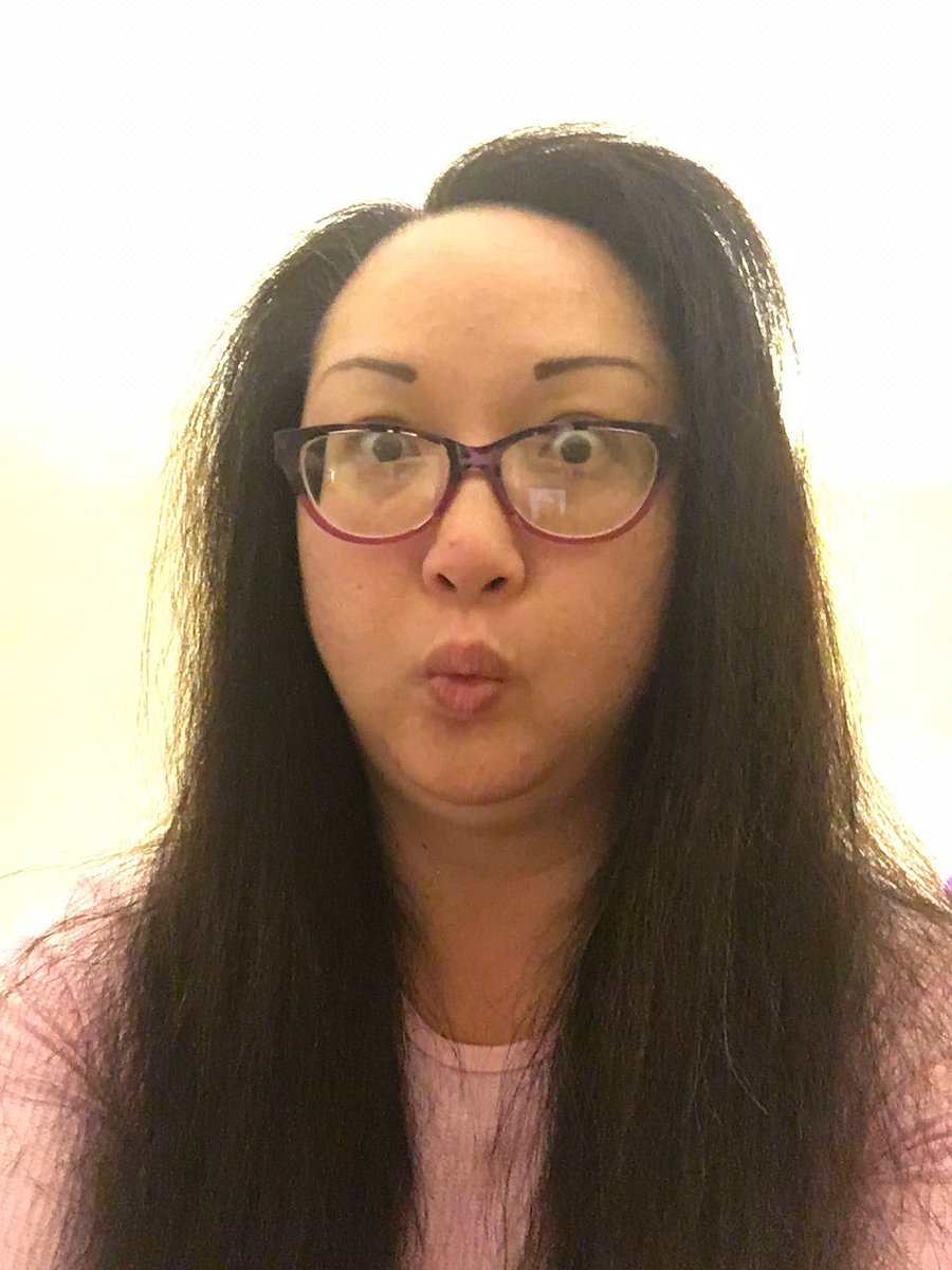 Jean Berman On Twitter This Is What Happens With Thick Asian Hair After You Blow Dry It Poof Gmmwinface Bringonthefrizz