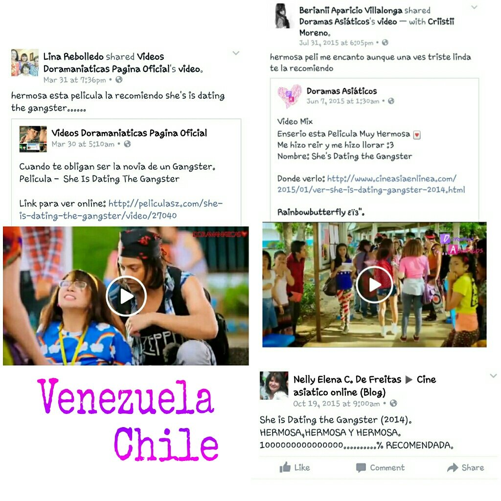 Chile vs venezuela online dating