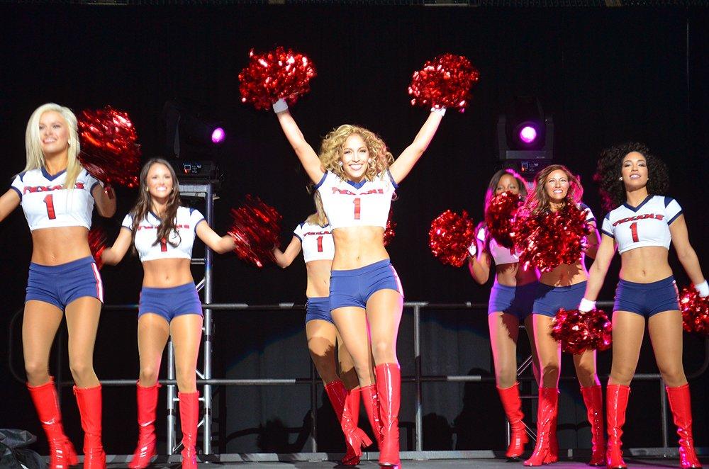 Texans Cheerleaders at 2016 Draft Partykhou @TexansCheer @HoustonTexans